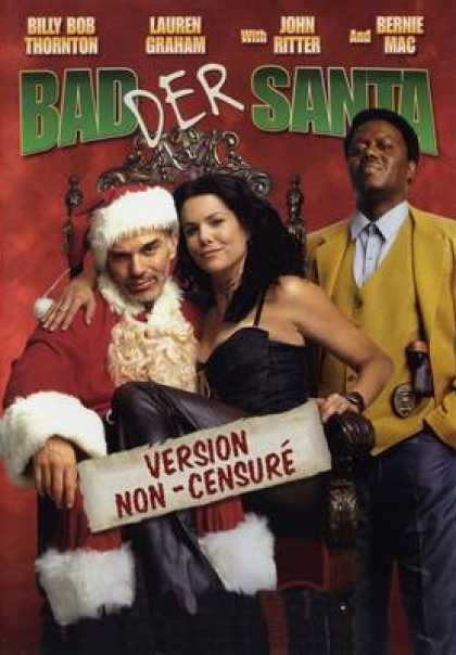French DVDs - Badder Santa