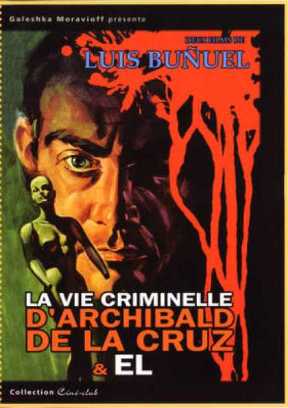 French DVDs - Vie Criminelle D'Archibald De La Cruz