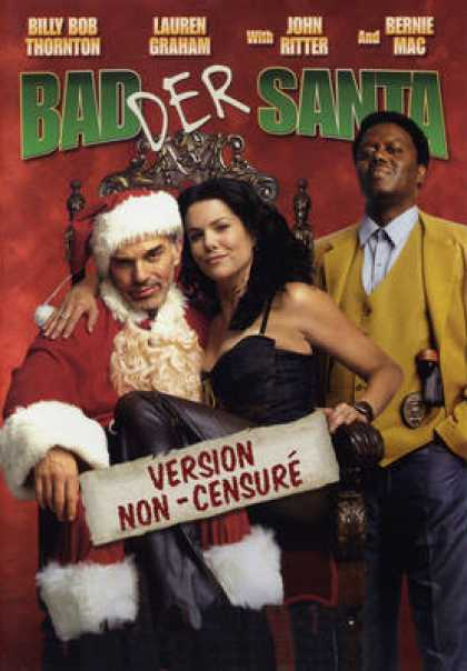 French DVDs - Bad Der Santa