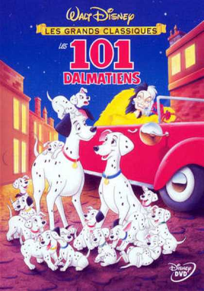French DVDs - 101 Dalmatiens