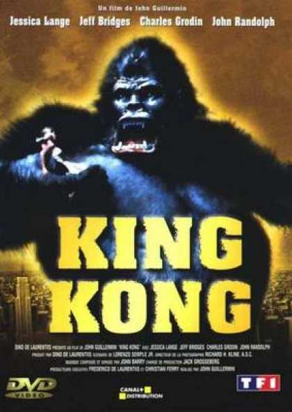 French DVDs - King Kong