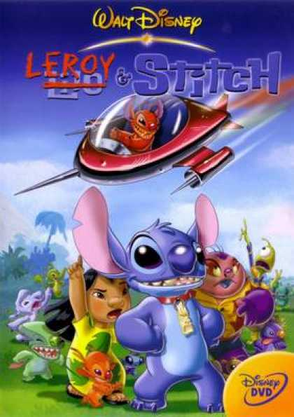 French DVDs - Leroy Et Stitch
