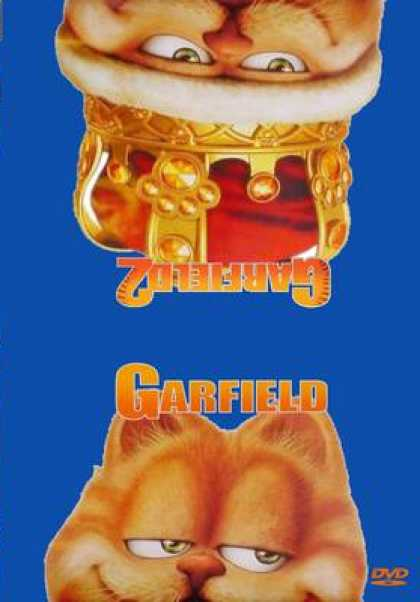 French DVDs - Garfield 1 & 2
