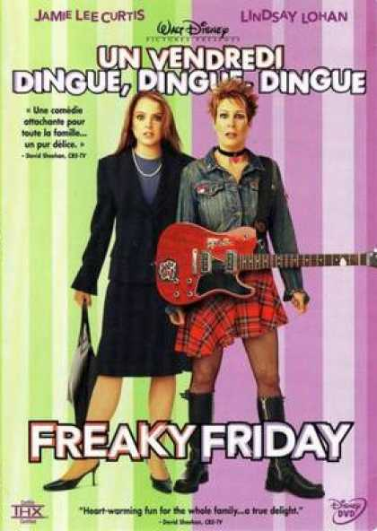 French DVDs - Freaky Friday