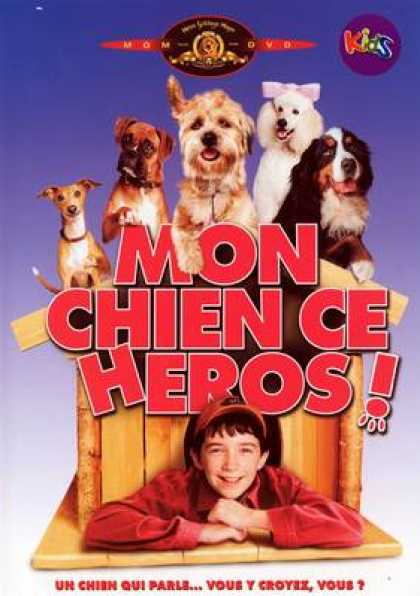 French DVDs - Mon Chien Ce Heros