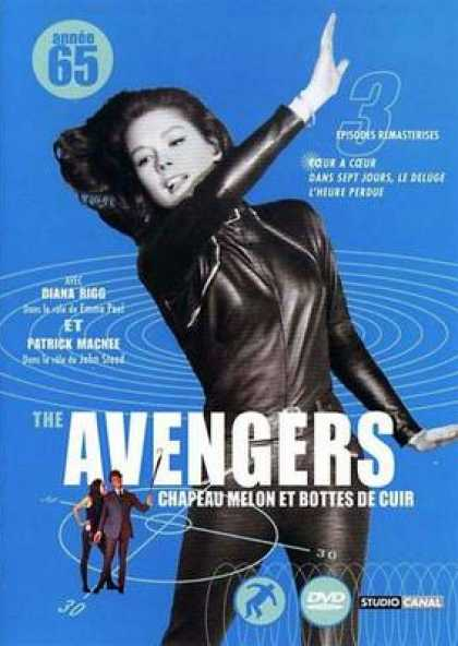French DVDs - The Avengers 1965 Vol 3