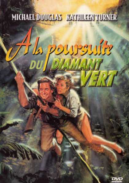 French DVDs - Romancing The Stone