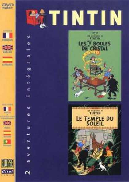 French DVDs - The Adventures Of Tin Tin Vol 8