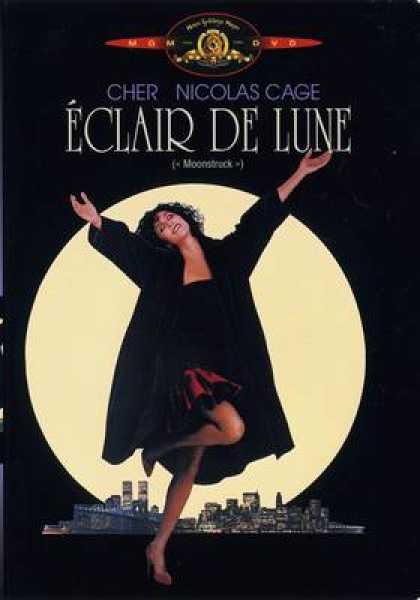 French DVDs - Moonstruck