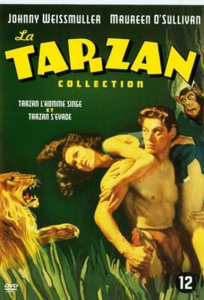 French DVDs - Tarzan The Ape Man And Escapes