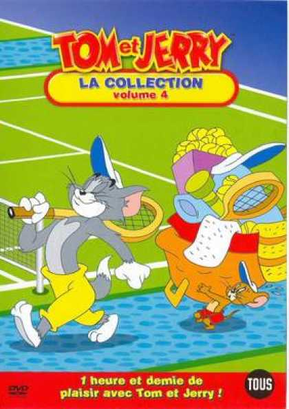 French DVDs - Tom And Jerry The Collection Vol 4