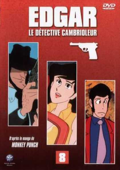 French DVDs - Edgar The Detective Vol 8