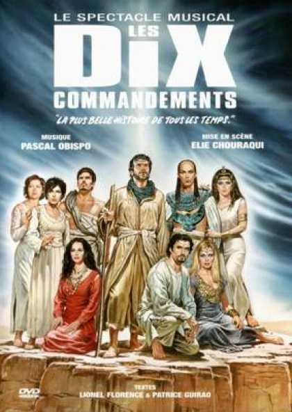 French DVDs - The Ten Commandments: The Musical