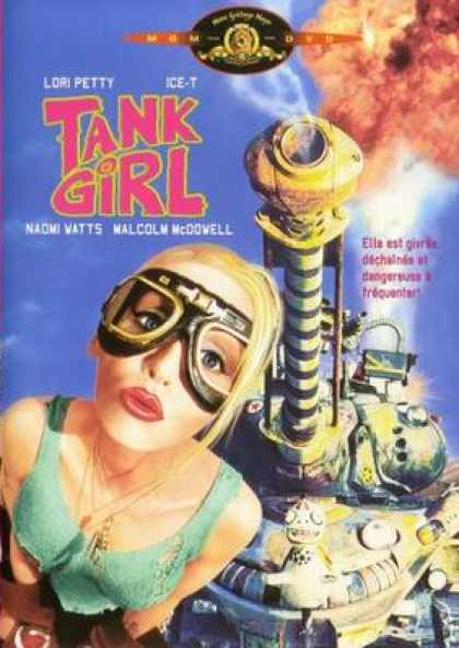 French DVDs - Tank Girl