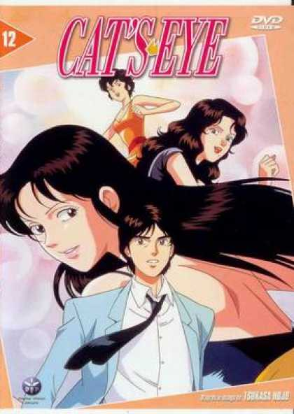 French DVDs - Cat's Eye Volume 12