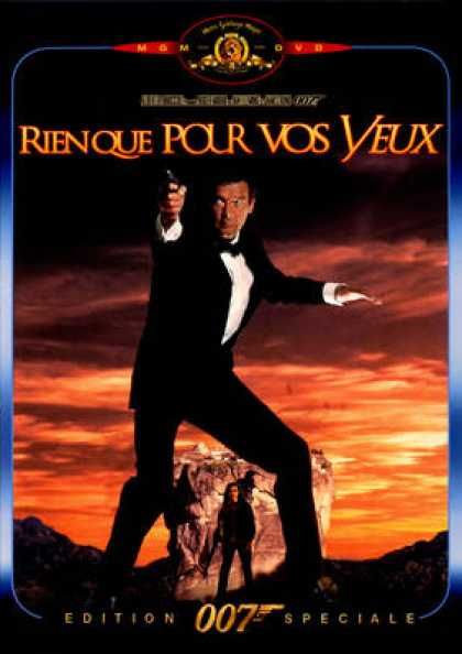 French DVDs - 007 James Bond - Only For Your Eyes