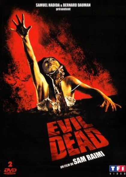 French DVDs - Evil Dead