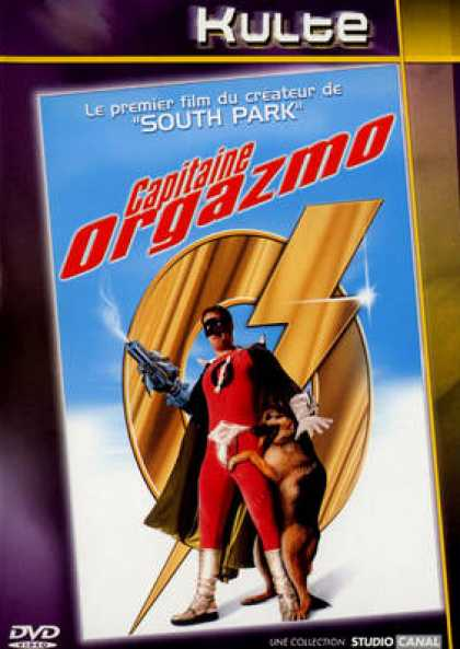 French DVDs - Capitaine Orgazmo