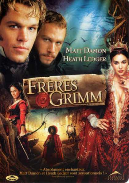 French DVDs - The Brothers Grimm