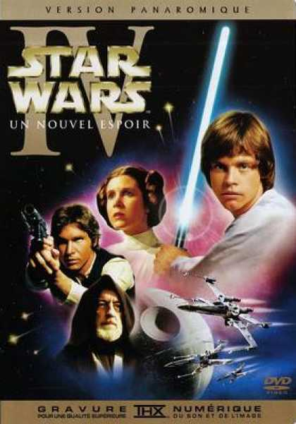 French DVDs - Star Wars Episode IV