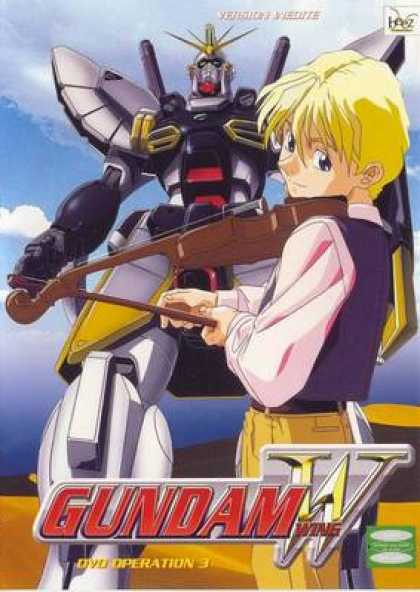 French DVDs - Gundam Wing Operation 3