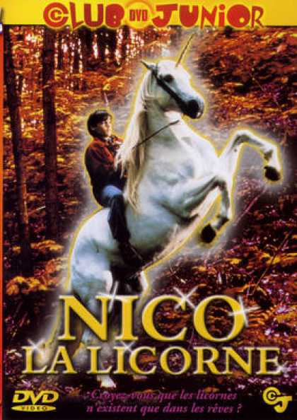 French DVDs - Nico La Licorne