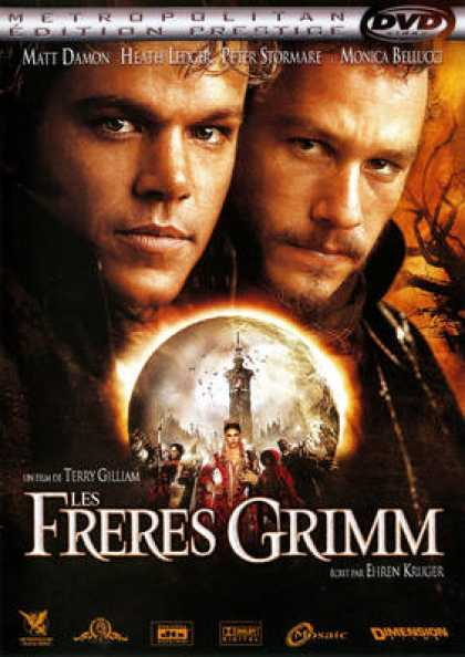 French DVDs - The Brothers Grimm EE