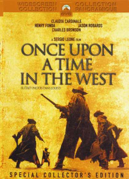 French DVDs - Once Upon A Time In The West