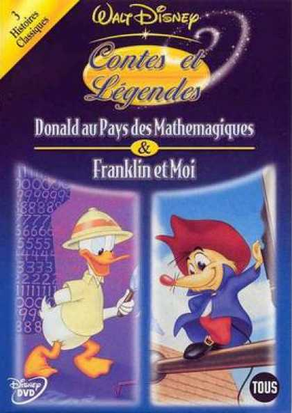 French DVDs - Disneys Heros And Legends Vol 3