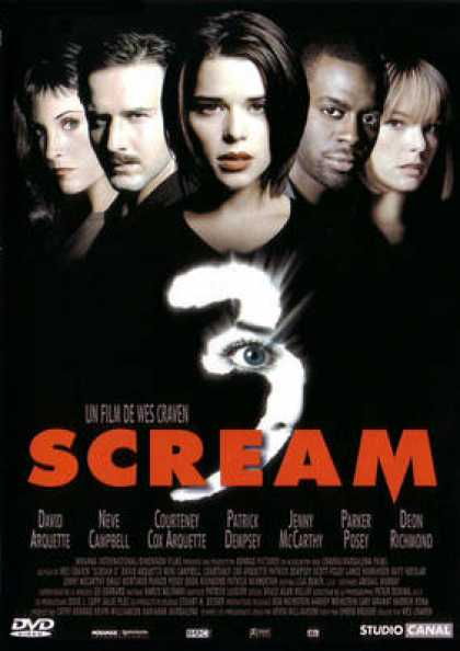 French DVDs - Scream 3