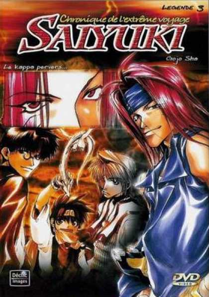 French DVDs - Saiyuki Vol 3