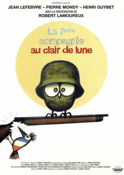 French DVDs - La 7 Eme Compagnie Au Clair De Lune