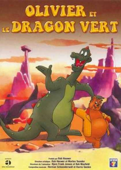 French DVDs - Oliver And The Dragon