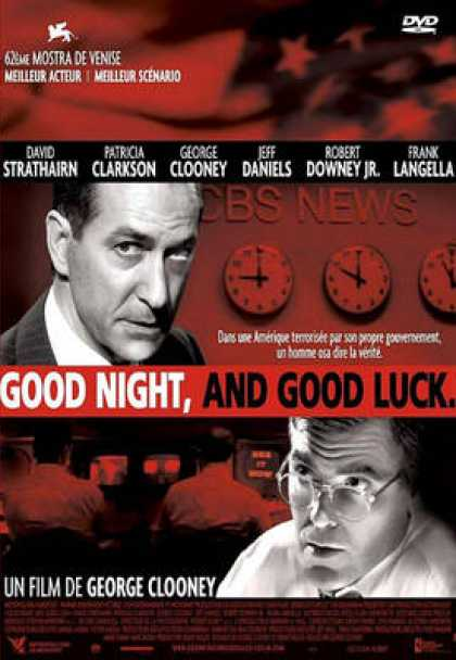 French DVDs - Good Night And Good Luck