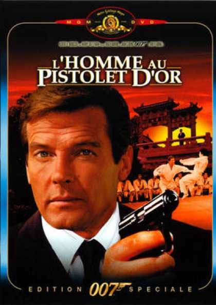 French DVDs - 007 L'homme Au Pistolet D'or