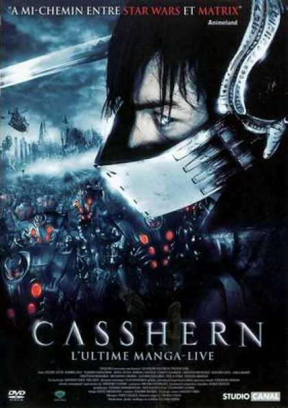 French DVDs - Casshern