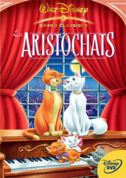 French DVDs - Aristochats