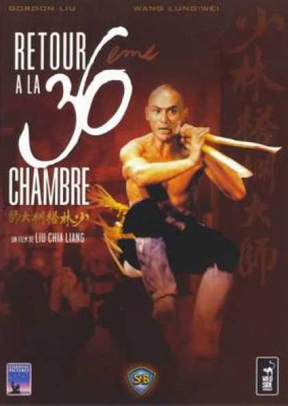 French DVDs - Enter The 36 Chambers