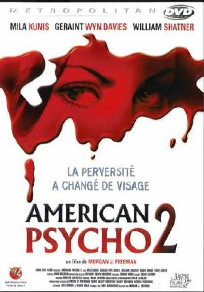 French DVDs - American Psycho 2
