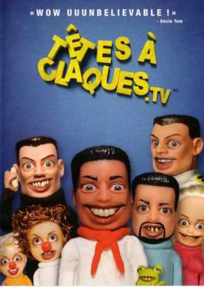 French DVDs - Tetes A Claques