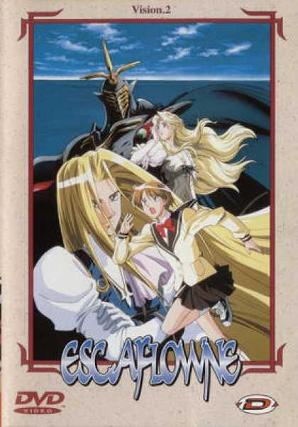 French DVDs - Escaflowne - Vision 2