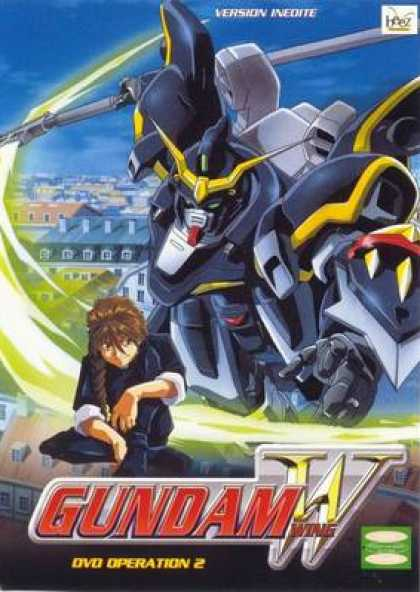 French DVDs - Gundam Wing Operation 2