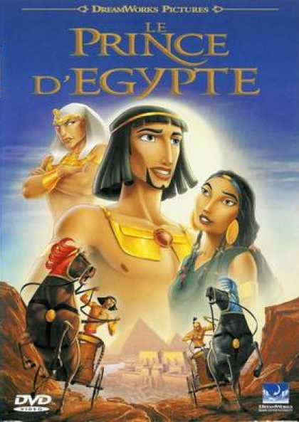 French DVDs - The Prince Of Egypt