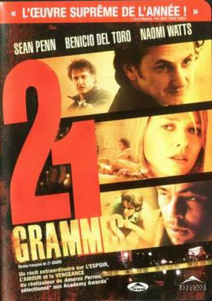 French DVDs - 21 Grams