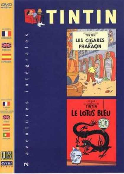 French DVDs - The Adventures Of Tin Tin Vol 5