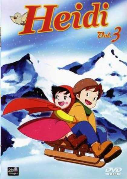 French DVDs - Heidi Vol 3