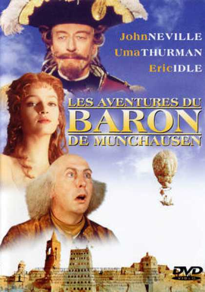 French DVDs - The Adventures Of Baron Munchausen