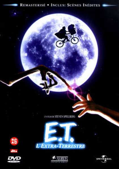French DVDs - E.T. The Extra-Terrestrial