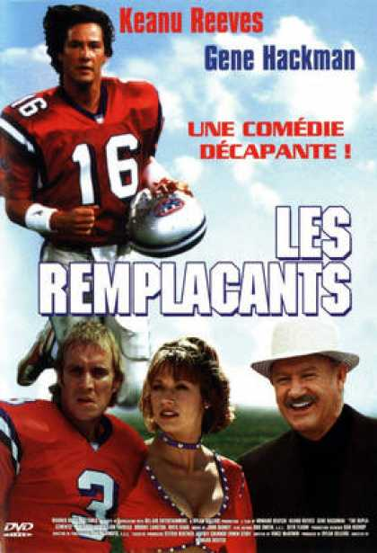 French DVDs - Les Remplacants