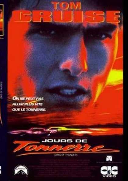 French DVDs - Days Of Thunder